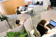 "ФОТО: Lattelecom сделал ""офис XXI века"" и назвал его Mettropole"