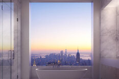Каково это, жить в пентхаусе за 95 млн долларов на высоте 425 метров над Нью-Йорком?
