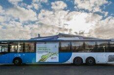 Sabiedriskais transports ar koksnes dīzeļdegvielu