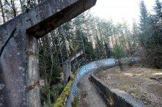 Vientulībā pamestā Sarajevas trase - vieta, kur latvieši ieguva pirmo Olimpisko medaļu bobslejā