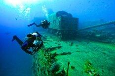 Kuģis, kas zem ūdens bijis vairāk nekā 70 gadus