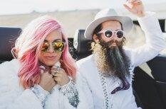 Lasvegasa, tuksnesis, Elviss un tetovējumi – tā precas īsti hipsteri