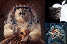 Коты, которые правили миром. Художница рисует портреты исторических котоличностей