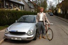 Pa Igauniju klīst hipsteris, kurš fotografējas tikai ar 'Ford Scorpio'