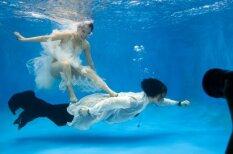 Māksla - ķīniešu kāzu galerija zem ūdens