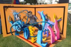 Portugāļu mākslinieks rada pārsteidzoši reālistisku 3D mākslu