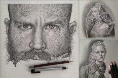 Невероятно реалистичные карандашные рисунки Моники Ли