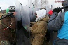 """Как будущие полицейские, военные и земессарги учились разгонять местные """"майданы"""""""