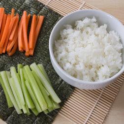 Suši rīsi
