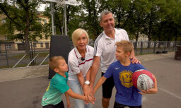 Eiropas sporta nedēļa: Jansonu ģimenes filozofija – kustība dod prieku