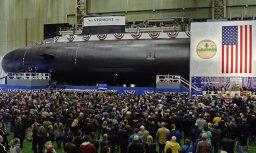 США спустили на воду две ударные атомные подлодки