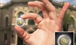 'Inbox.lv' atbalsta plānu izlaist IT nozarei veltītu kolekcijas monētu ar briljantu