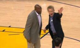 Video: 'Es tāpat nevēlos šeit būt' – no spēles izdzen 'Warriors' galveno treneri