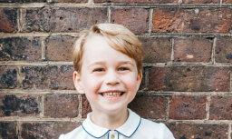 Britu karaļnams prinča Džordža jubilejā publisko apburošu foto
