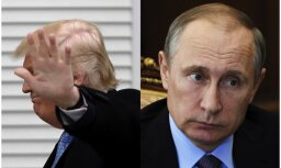 Trampa padomnieki noliedz mediju ziņoto par plānotu tikšanos ar Putinu