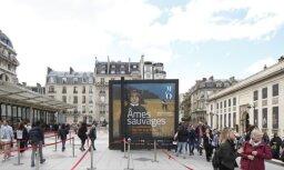 Foto: Ieskats Baltijas mākslas izstādē prestižajā Orsē muzejā Parīzē
