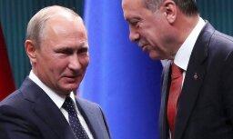 Источник: Эрдоган предупредил Путина об угрозе дестабилизации Сирии