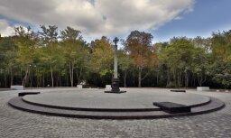 В России открыт первый памятник добровольцам, воевавшим в Донбассе