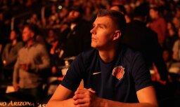 Video: Porziņģis iekļūst NBA smieklīgo epizožu izlasē