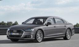 Latvijā jau iespējams pasūtīt jauno 'Audi A8'