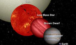 """Обнаружена необычная планетная система с """"недозвездой"""""""