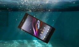 Jauns ūdensdrošs planšettelefons 'Sony Xperia Z Ultra'