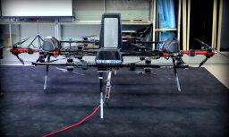Latviešu unikālie droni mērķē uz lielu pasūtījumu no enerģētikas milža