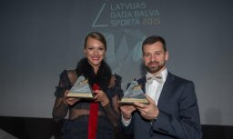 Svinīgā ceremonijā pasniedz Latvijas 'Gada balvas sportā 2016'