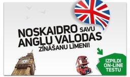 Pārbaudi savas angļu valodas zināšanas tagad