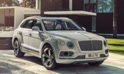 'Bentley Bentayga' tagad arī hibrīda modifikācijā