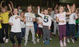 Rīgā notiks bērndārznieku sporta diena