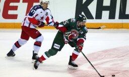 KHL finālsērijas pirmajā mačā 'Ak Bars' uzvar CSKA