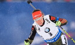 Vācijas biatlona zvaigzne Dālmeiere plāno startēt vismaz līdz 2020.gadam