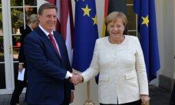 Кучинскис указал Меркель на неудовлетворенность Латвии следующим многолетним бюджетом ЕС