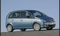 Izgatavots miljonais 'Opel Meriva' vienapjoma automobilis