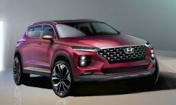 'Hyundai' parādījis jaunā 'Santa Fe' dizainu