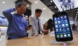 'Samsung' apdzen 'Nokia' un kļūst par mobilo telefonu tirgus līderi pasaulē