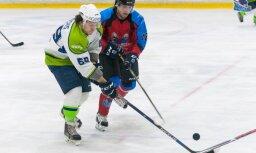 Hokeja kaislības: 'Mogo' uzvar 'Zemgale/LLU' pirmajās Latvijas kausa pusfināla spēlēs