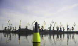 В Рижском порту объяснили резкое падение грузооборота
