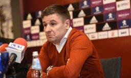 Марьян Пахарь ушел в отставку с поста главного тренера сборной Латвии