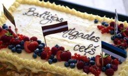 Noskaties! Ceļu pasaulē sāk latviešu sveicieni kaimiņiem simtgadē