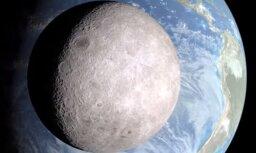 Video: Kā izskatās Mēness no tumšās puses