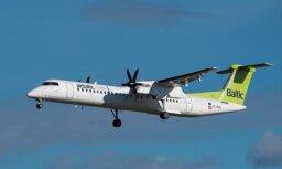 Pēc kļūdaina paziņojuma par atvērtām durvīm Minhenes lidostā atgriezies 'airBaltic' reiss
