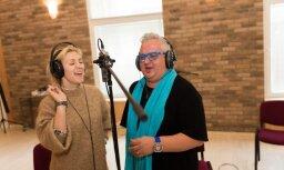 Noklausies! Ieva Kerēvica un Sergejs Jēgers dāvina dziesmu Latvijai