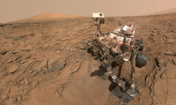 Foto: Kā top selfijs uz Marsa