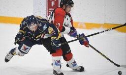 'Kurbads' hokejisti izcīna otro uzvaru Latvijas čempionāta finālā
