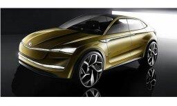 'Škoda' parādījusi elektriskā apvidnieka 'Vision E' veidolu
