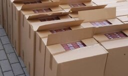 Кенгарагс: криминальная полиция изъяла 1,7 млн. контрабандных сигарет