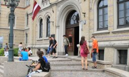 Число студентов в латвийских вузах сократилось на 1,6%