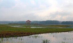 Pazeminās ūdenslīmeni Rīgas HES ūdenskrātuvē